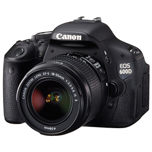 Цифровой фотоаппарат canon eos 600d kit ef s 18 55