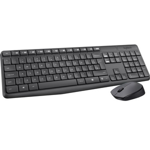 Комплект Logitech Wireless Keyboard and Mouse MK235 Black USB [920-007948]